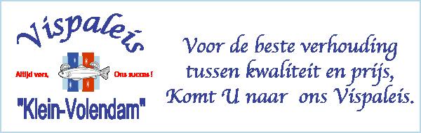 Vispaleis Klein Volendam